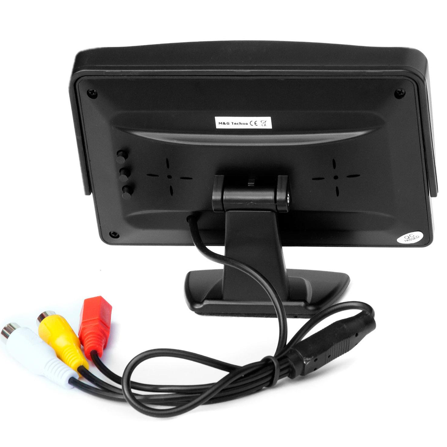 auto standfu lcd tft bildschirm monitor 5 zoll f r r ckfahrkamera ebay. Black Bedroom Furniture Sets. Home Design Ideas