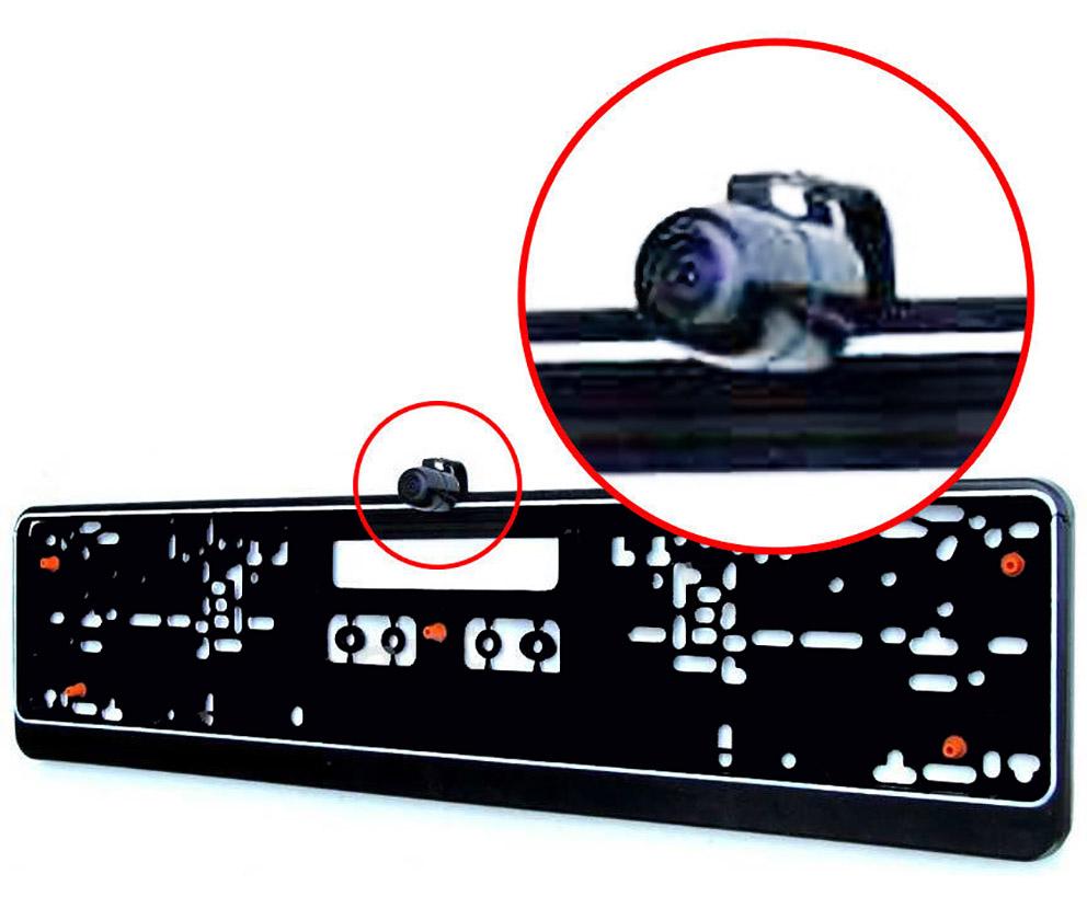 r ckfahrkamera frontkamera 170 einparkhilfe mit antivibration nummernschild ebay. Black Bedroom Furniture Sets. Home Design Ideas